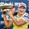 ADELAIDE, AUSTRALIA - FEBRUARY 19:<br /> <br /> Ha Na Jane from the Republic of Korea wins the ISPS Handa Women's Australian Open at Royal Adelaide Golf Club on February 19, 2017 in Adelaide, Australia.