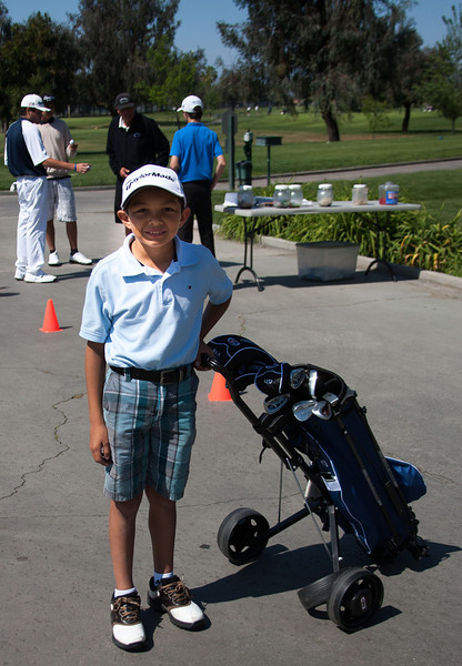 Carson's First Golf Tournament