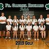 2019 FGR Girls Golf Team 8x10