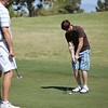 untitled shoot-5024<br /> Jerry watching Brent putt.
