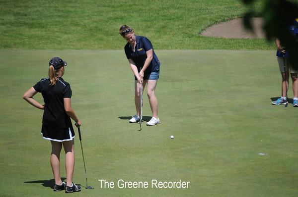 2012 Girls District Golf
