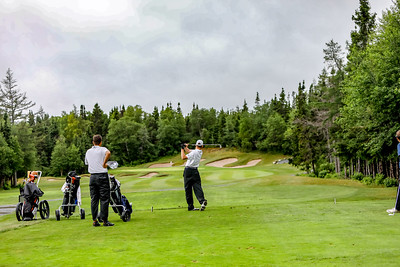 Evan Callaghan, Jordie Cooper and Teran Newell 2018 Terra Nova National Junior Golf Tournament Future Links