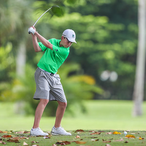 Ransom Everglades competed in the Westminster Open at the Biltmore Golf Course.