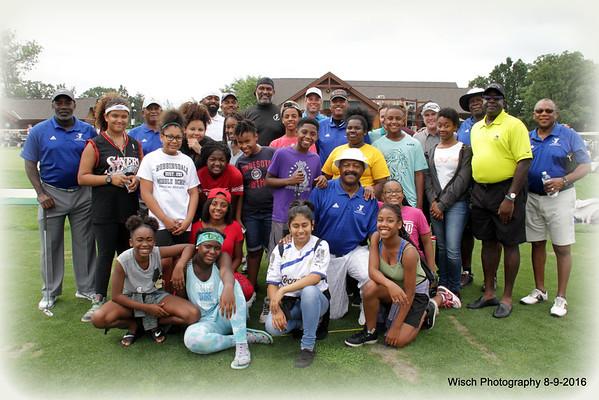 Greg Coleman YMCA Youth Golf clinic 2016