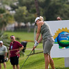 Starting the final round at the Fields Open, Linda Wessberg drives at 10.
