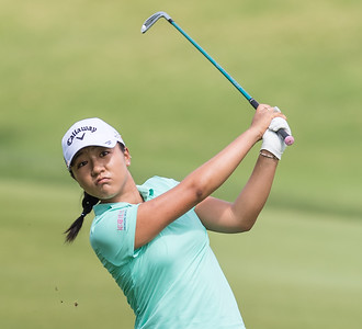 Lydia Ko during the 2016 Walmart NW Arkansas Championship presented by P&G at Pinnacle Country Club in Rogers Arkansas on Friday, June 24, 2016.  (Alan Jamison, Nate Allen Sports Service)