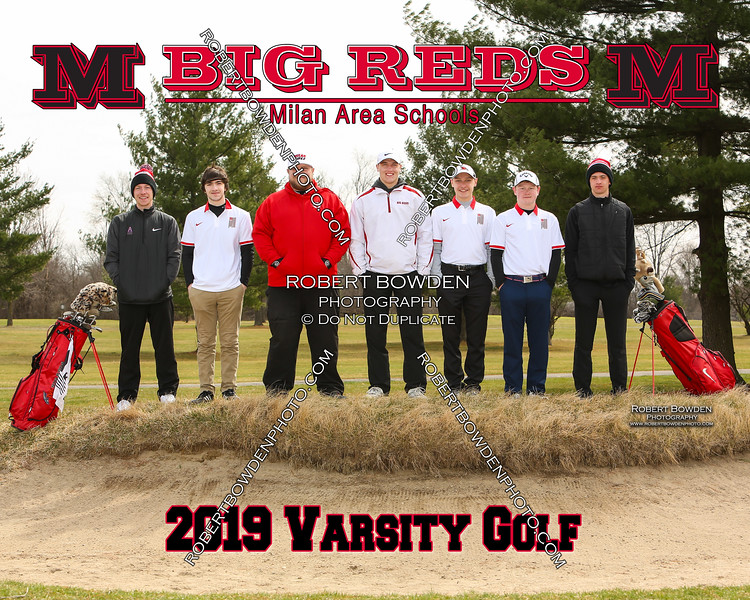Milan 8x10 Varsity Golf 2019