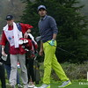 Raj at the 2nd hole in Pebble Beach for the  Pro-Am 2017 Celebrity 3M Challenge