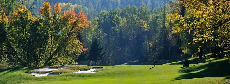 Redstone Resort, Rossland, BC  -  4th Fairway