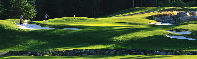 Redstone Resort, Rossland, BC - 9th Green