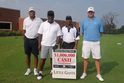 "The ""Little Giant"" Golf Classic. Labor Day Weekend Sun Aug 31, 2008.  Final Round and Awards. Linclon Park Golf Club. OKC, OK."