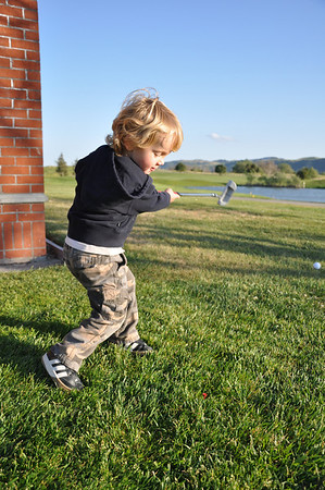 The Little Golfer....Fore!!!