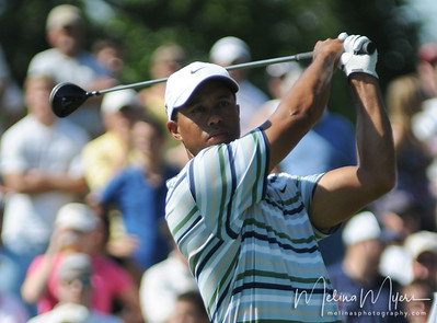 Tiger Woods tees off at the 16th hole of the 2009 The Players held May 4-10 in Ponte Vedra Beach, Florida.