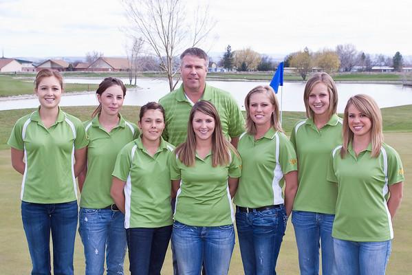 Women's Golf, Team Photo '08-'09