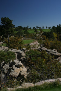 12th Tee at Sanctuary; Sedalia, Colorado