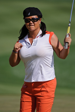 Golf - Omega Dubai Ladies Masters, Round One, 9th December, 2009