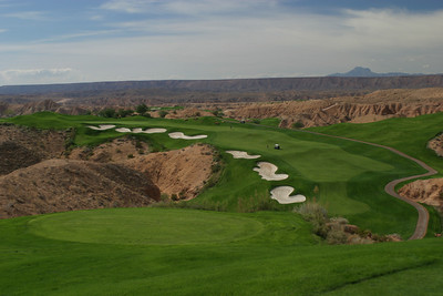 6th Tee Wolf Creek Golf Course; Mesquite, Nevada