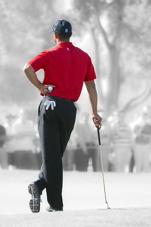 Golf.  Dubai Desert Classic, Dubai, UAE. 13 Feb 2011