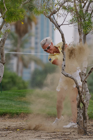 Golf - Omega Dubai Ladies Masters, Round Three, 11th December, 2009