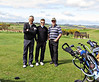 Stuart, Fraser & Michael on Eden Course