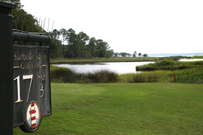 17th Hole at Harbour Town Golf Links; Hilton Head, South Carolina