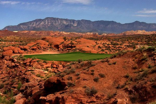5th Hole, Coral Canyon; Washington, Utah