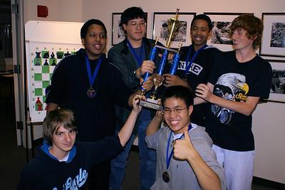 Gonzaga Chess - Washington Chess Center Tournament, 2006