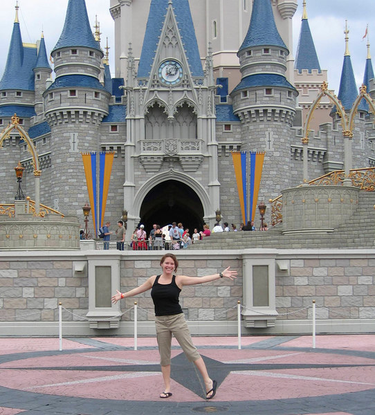 Looks fake, but it is in fact the castle that we would later run through....TWICE.