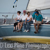 Gratitude, an MG38 hailing from Annapolis Yacht Club, gets ready for the evening start of the Governor's Cup Regatta last Friday.