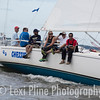 Chessie, a J/105, gets ready for the evening start of the Governor's Cup Regatta last Friday.
