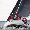 """The IMX-40 """"SqueeZeplay"""" gets ready for the evening start of the Governor's Cup Regatta last Friday."""