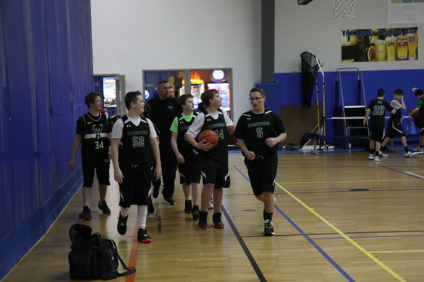 Grade 8 C Basketball