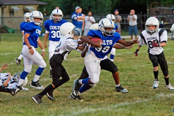 Grade School Football - Speedway vs. Colts, Sept. 4, 2013