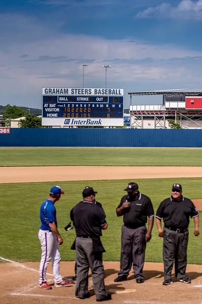 2016 Baseball Steers vs. Iowa Park (3)
