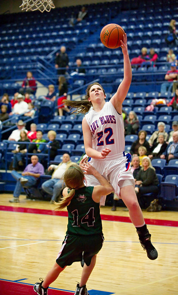 2010-2011 Lady Blues Basketball