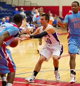 Graham Steers vs. Wichita Falls Hirschi (01-17-2012)