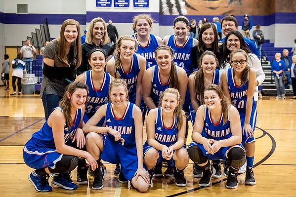 2015-2016 Lady Blues Basketball