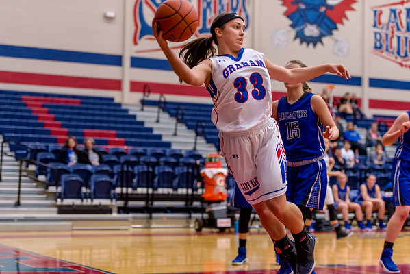 Lady Blues fall to Decatur Lady Eagles 39 to 47