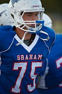 Graham Steers 28 vs. Brownwood Lions 35 (09-02-2011)