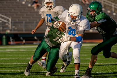 Graham Steers JV scrimmage the Iowa Park Hawks