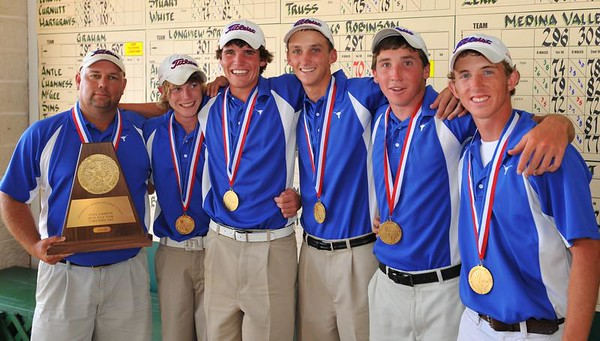 2008 UIL 3A State Golf Champions