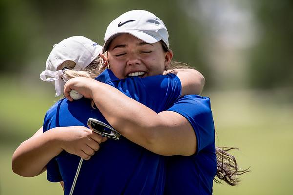 2017 Lady Blues UIL Golf 4A Regionals