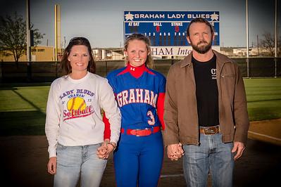 Graham Lady Blues vs. Burkburnett Lady Bulldogs