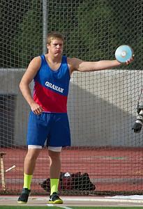 Barrett Davidson, Discus  2012 UIL State Championship Track & Field (05-12-2012)