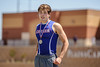 Bradley Little wins the silver medal in the pole vault at the 4A Region 1 Track & Field Championships