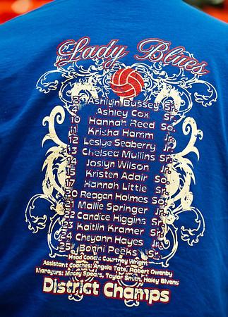 Graham Lady Blues 3 vs. Glen Rose Lady Tigers 0 (11-05-2011)