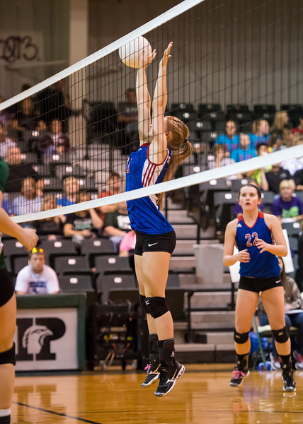 Graham Lady Blues 1 vs. Iowa Park Lady Hawks 3 at the high school gym in Iowa Park, Texas on October 19, 2012