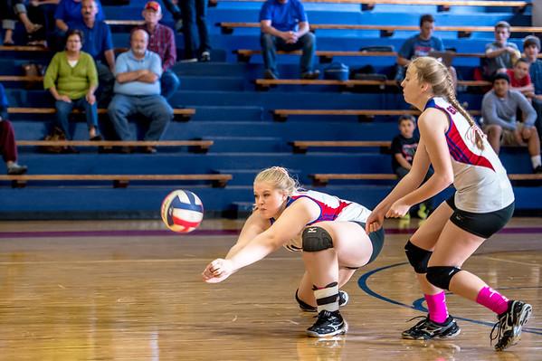 Graham Lady Blues vs. Abilene Wylie Lady Bulldogs Freshman volleyball