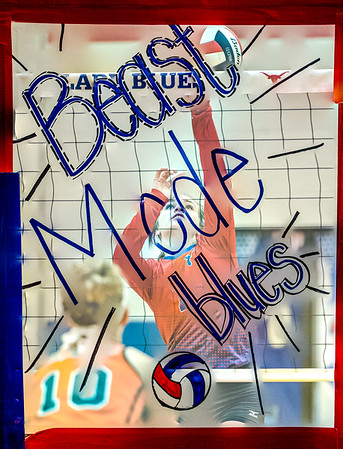 2016 VB JV Blues vs. Burk Lady Bulldogs