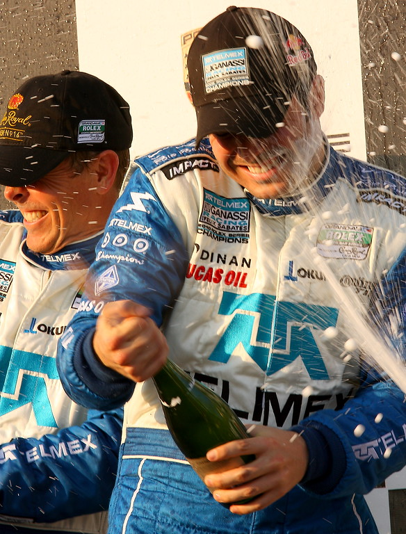 Rojas and Pruett Champagne Bath at Barber